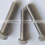 Top Quality m10x1.25 stainless steel bolt hex head sleeve nut