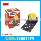 Plastic24 cards bingo machine game toys for kid bingo toys jackport Multifunction kid toy bingo