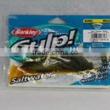 100% natural Berkley Gulp salt pepper glow fishing lure