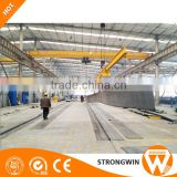 traveling wheel single double girder overhead crane workshop crane for sale