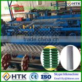 Automatic Double Spiral Wire Automatic Chain Link Fencing Machine