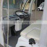 Pure white 14 passenger shuttle bus from suzhou eagle