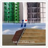 For retaining walls / slop protect Steel plastic Welding geogrid/ Biaxial Steel-plastic Composite Geogrids price