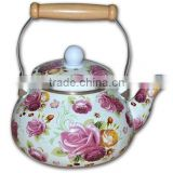 2.5L Enamel Kettle Factory/kitchenware and gift