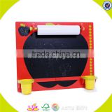 Wholesale teaching aid baby wooden drawing board useful top children wooden drawing board W12B030