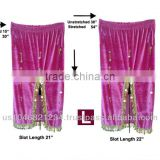 Belly Dance Velvet Beaded Skirt Purple