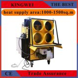 big power portable waste oil heater with canvas tube