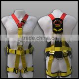 construction safety belts full body harness rescue harness 3 point/4 point/5 point CE certified