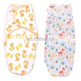 Fashion Cheap Muslin Baby Swaddle Blankets With LOGO Wholesale Infant Kids Newborn Soft Bamboo Cotton Swaddle Baby Wrap