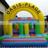 SUNWAY Cheap Inflatable Obstacle Course, Inflatable Pool Obstacle