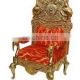 2017 Hot Sale Large piece elegent popular king throne chair