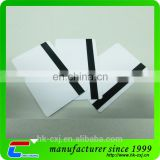 Plastic Blank Magnetic Card With Hico Loco Stripe
