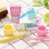 Toothbrush and Cup Eraser