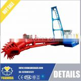 csd150 cutter suction dredger for gold mining ship