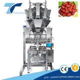 Best Sell Dry Fruit Red Date Vegetable Forming Filling Sealing Automatic Packing Machine with Multihead Wigher