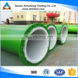 abrasion resistant alumina ceramic lined pipes/wear-resistant pipe/wear-resistant composite pipes
