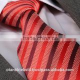 Red Striped, Custom, Silk tie, necktie, neck tie, corbata, gravate, krawatte, cravatta, fashion tie