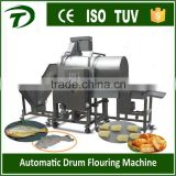 starch machine drum flouring coating machine