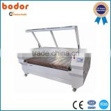 Double-head (Movable) Auto Feeding Laser Cutting Machine BCL1610XH2H(M)A/ textile laser cutter for sale