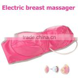 Top quality Pink/Purple color Electric Infrared Breast Stimulus enhancement physiotherapy vibrating Massage bra
