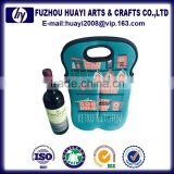 Wine tote bag wholesale colourful neoprene wine bottle bag,bottle container