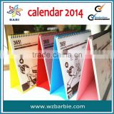 new desk pad calendar 2014