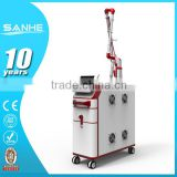 1064nm 532nm Carbon Powder Skin Rejuvenation 1-10Hz Laser ND Tattoo Removal System YAG/q Switched Nd Yag Laser Naevus Of Ota Removal