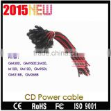GM3188 GM3688 GM Data Box GM1280 GM140 GM160 GM300 GM398 mobile car radio cd power cable