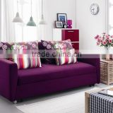 2015 new l shaped sofa designs purple corner sofa bed