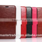 Original K-COOL Fine Sheep Grain Printing Stand PU Leather Wallet Case For Google 6 MT-2829