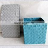 Colorful PP Home Foldable Laundry Storage Box