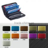aluminum business card credit card holder case wallet
