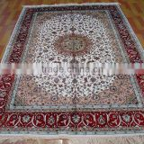 outdoor carpet natural colour hand knotted handmade persian silk rug persian handmade silk carpets for home hotel villa/silk rug
