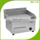 (BN-718) Cosbao commercial gas range with burners and griddle/cooking plates restaurant/griddle gas