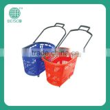 Best Selling rolling plastic hand basket