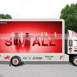 Outdoor full color P10mm LED Truck, Mobile LED Display Truck