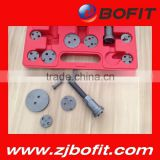Bofit high quality universal new brake caliper piston rewind wind back tool kit 22 piece set good prices