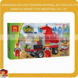 Garbage truck toy City Construction truck Block Set kids educational toys