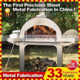 stainless steel outdoor wood-fired pizza oven                                                                         Quality Choice