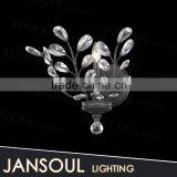 wholesale vintage leaf shape chrome small home decor lighting fixtures wall lamp with CE or UL certificate