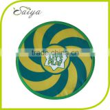 dog fabric nylon frisbee with Custom logo