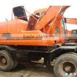 original from korea used doosan 130 wheel excavator new arrival