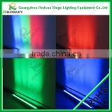 Lowest price and high quality RGB solar stair chargeable magic strip disco flood strip Fresnel Screen LED Sign Marquee Washer