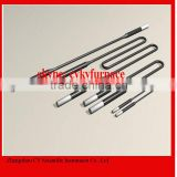 Electric heating rod, heating element MoSi2, molybdenum disilicide heating element for laboratory furnace