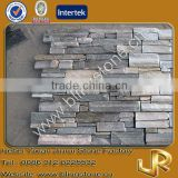 Grey rock decorative stacked ledge stone