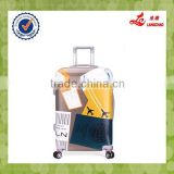 24 Inch Trolley Suitcase 4 Wheels Hard PC Suitcase Plastics Kids Luggage                                                                         Quality Choice