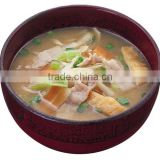 japanese high quality miso soup Instant Soup Packets Japan Freeze Dried Miso Soup 15g (Pork Taste)