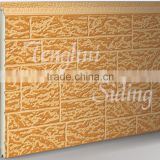 decorative exterior wall siding panel/pu sandwich panel/aluminum foam wall panel/facade panel/wall cladding panel