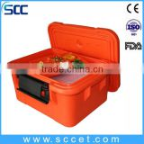 SCC LLDPE&PU Plastic Food Contianer Hot Box for holding GN food pan