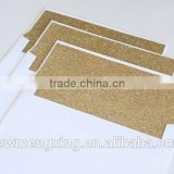 Paper envelops with gold glitter liner Wedding accesories                                                                         Quality Choice